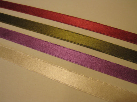 Silk Ribbons for Lids (1 yard)