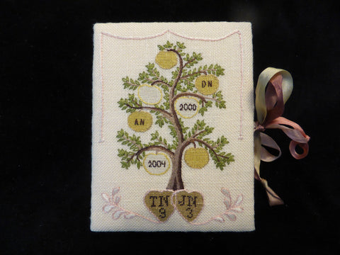 Middlesex Tree Sampler - Needlework Nibble