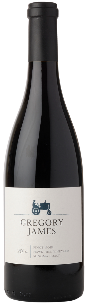 2014 GJ Hawk Hill Pinot Noir | 91 Point | Sonoma Coast