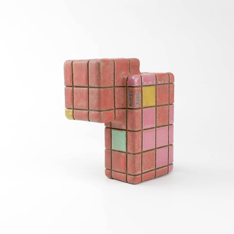 Worm cube - Ruby dust