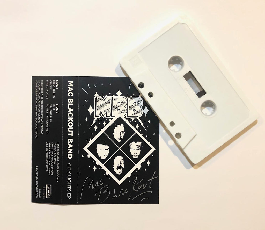 City Lights EP [Cassette] by Mac Blackout Band