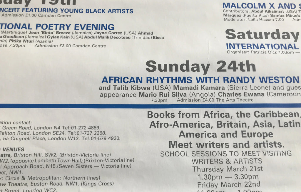 International Book Fair of Radical Black & 3rd World Books