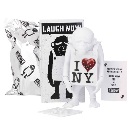 Laugh Now [NY] Edition by Apologies To Banksy