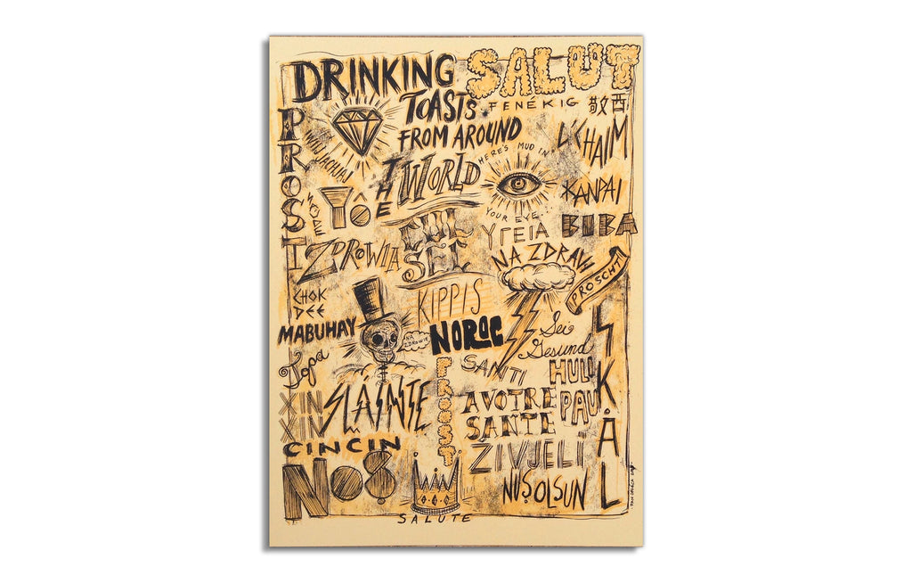 Drinking Toasts From Around the World by Dan Grzeca