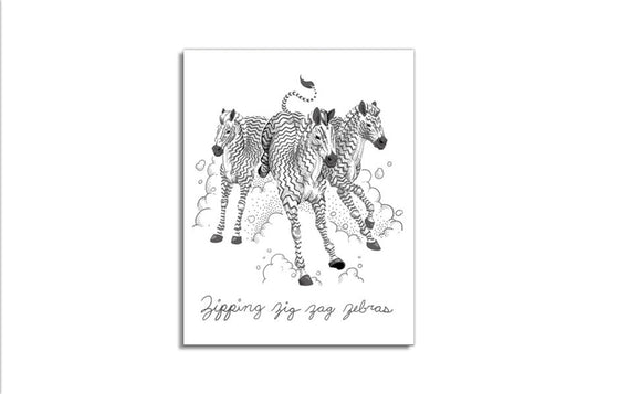 Z is for Zebra by Jillian Nickell