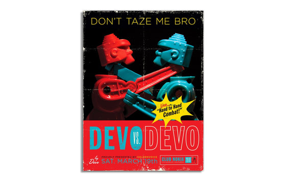 DEVO vs DEVO by Kii Arens