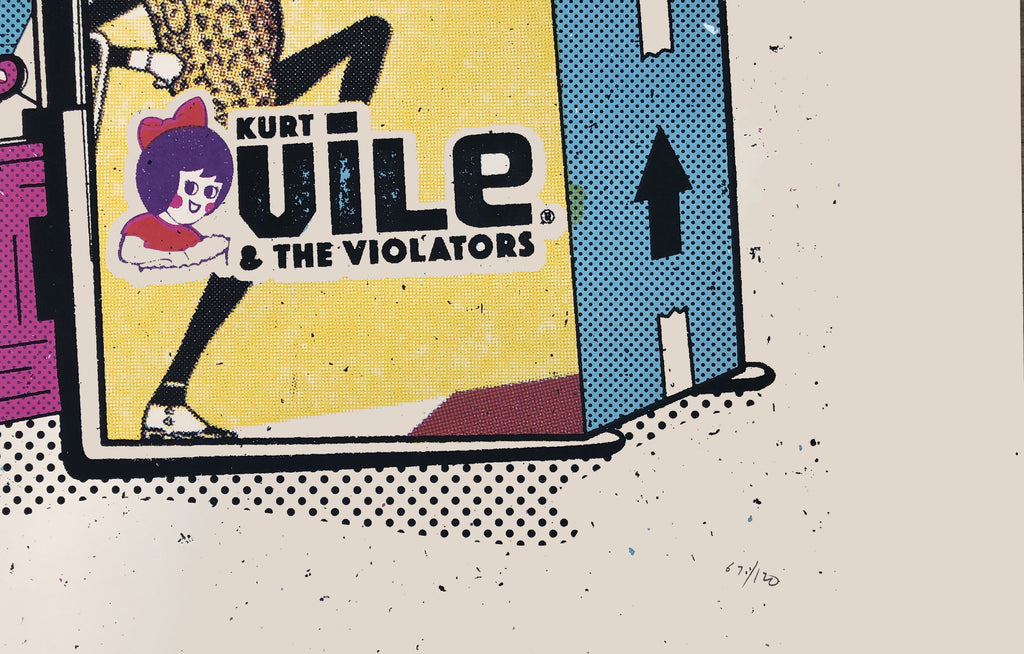 Kurt Vile and The Violators by Boss Construction