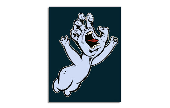 Screaming Casper Print by Jason Rowland