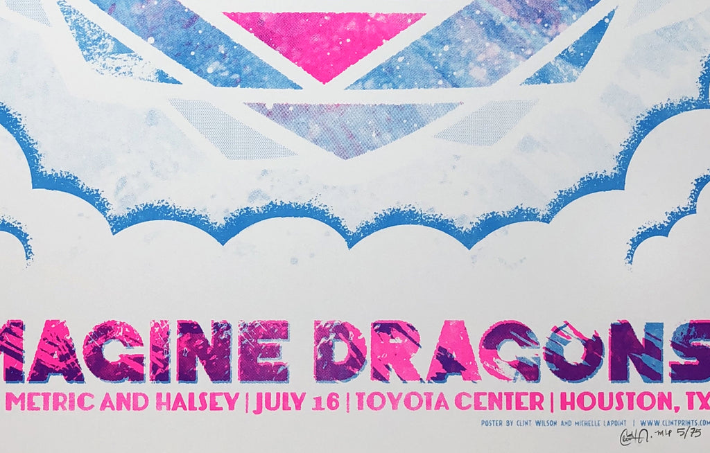 Imagine Dragons w/ Metric and Halsey by Clint Wilson