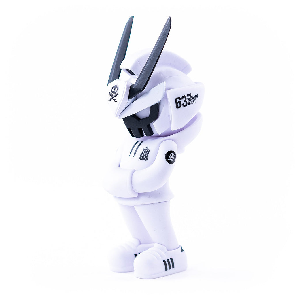 Teq63 Core [Ghost Mode - White] by Quiccs x Martian Toys