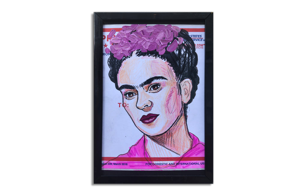 Frida Kahlo Slap 2 by Corey Singletary