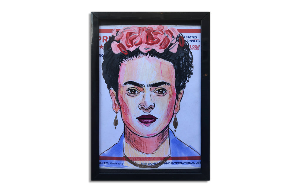 Frida Kahlo Slap 4 by Corey Singletary
