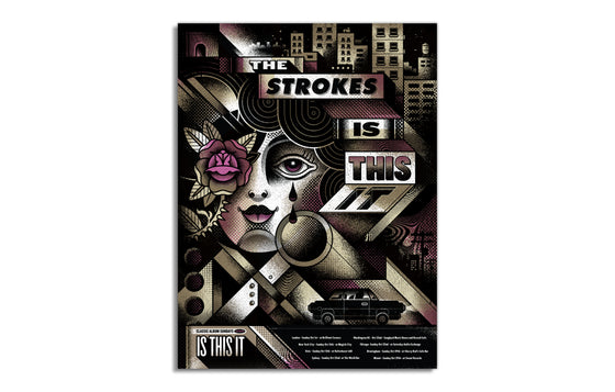 The Strokes by Delicious Design League