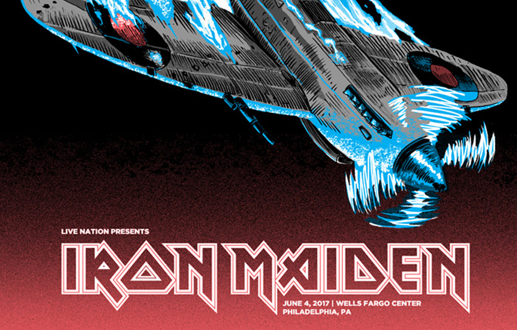 Iron Maiden by Tim Doyle