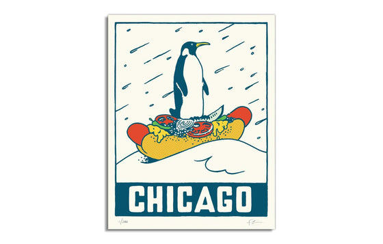 Chicago Penguin by Ryan Duggan