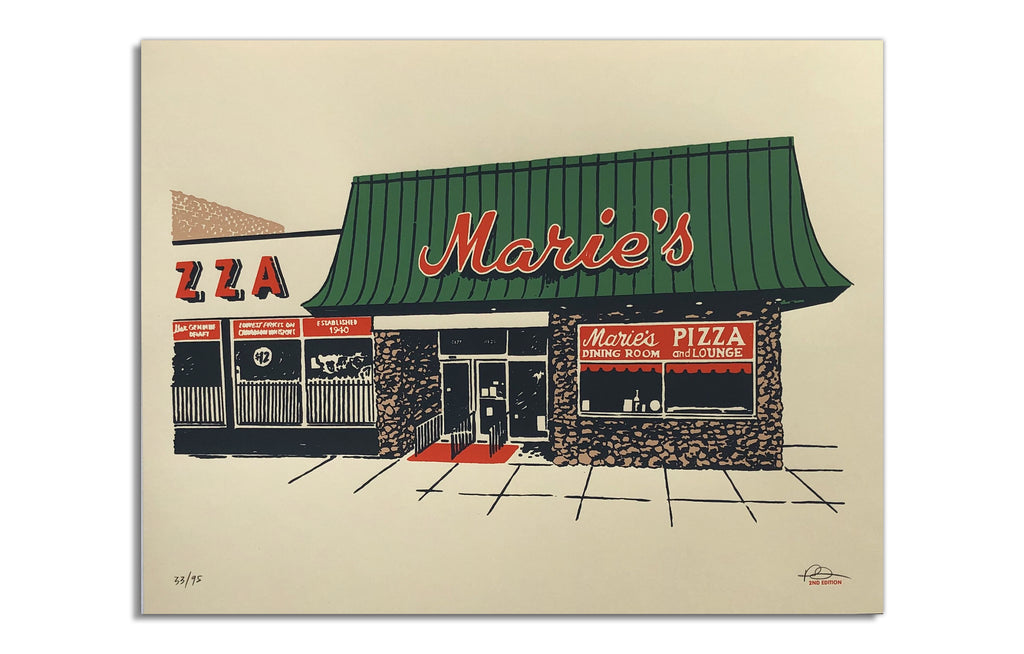 Marie's Pizza by Ryan Duggan