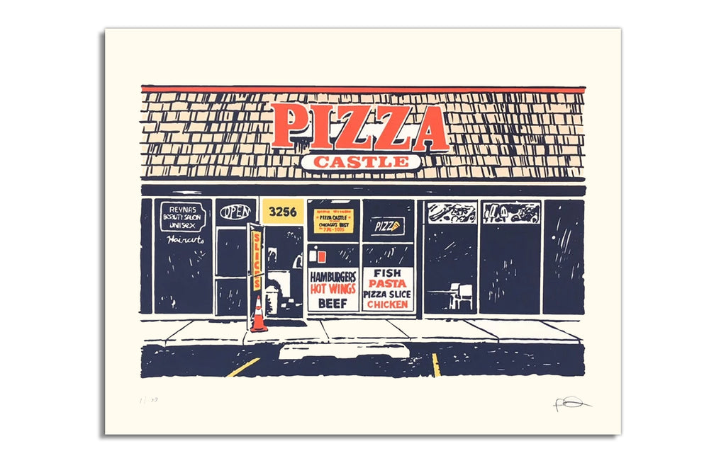 Pizza Castle by Ryan Duggan