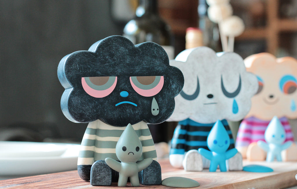 Black Cloud by Fluffy House x Amanda Visell
