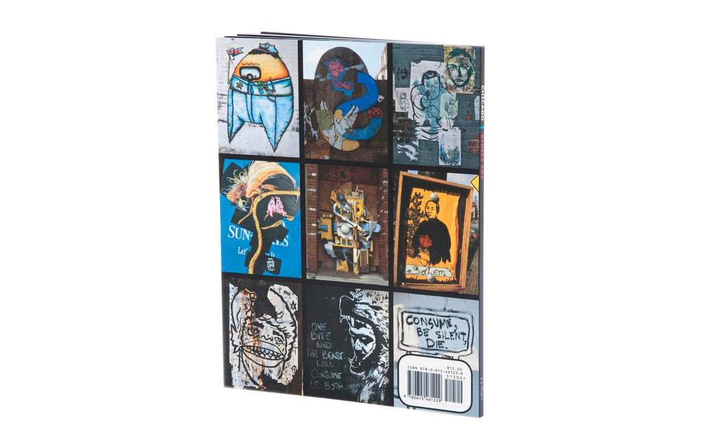 Chicago Street Art Book by Joseph J Depre - Galerie Finds