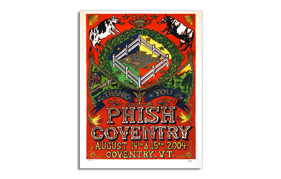 Phish Coventry by Jim Pollock