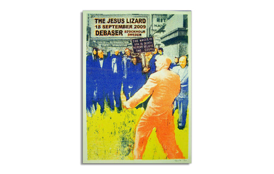 The Jesus Lizard by Screwball Press
