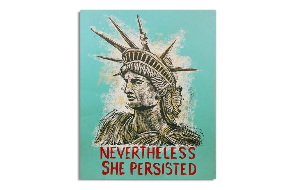 Nevertheless She Persisted by Dan Grzeca