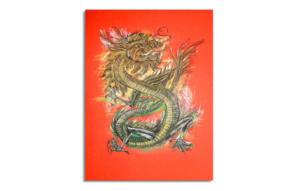 Year of the Dragon by Dan Grzeca