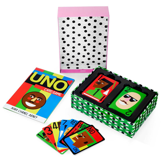 UNO Card Game by Nina Chanel Abney