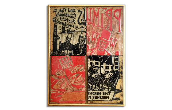 Primus and the Chocolate Factory [Lino Blocks] by Jim Pollock