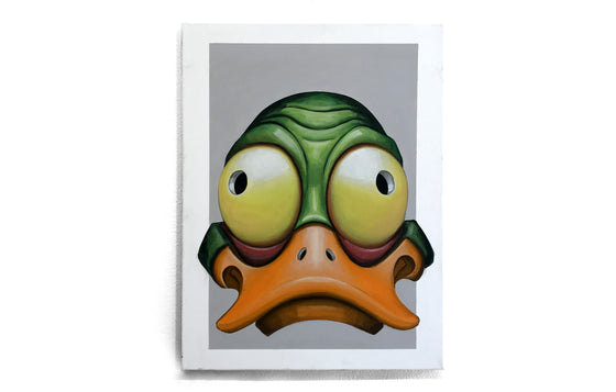 Color Studies [Green Duck Mask] by James Decker