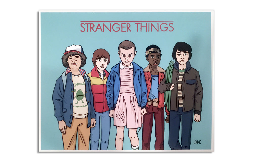Stranger Things by Nick Lacke