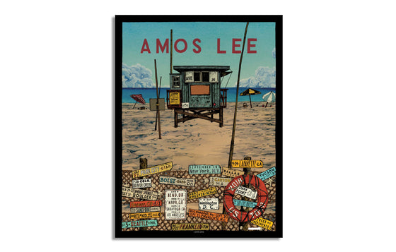 Amos Lee US Tour 2018 by Landland