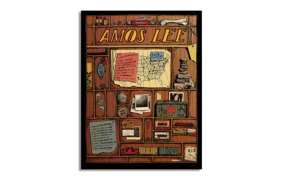 Amos Lee US Spring Tour 2019 by Landland