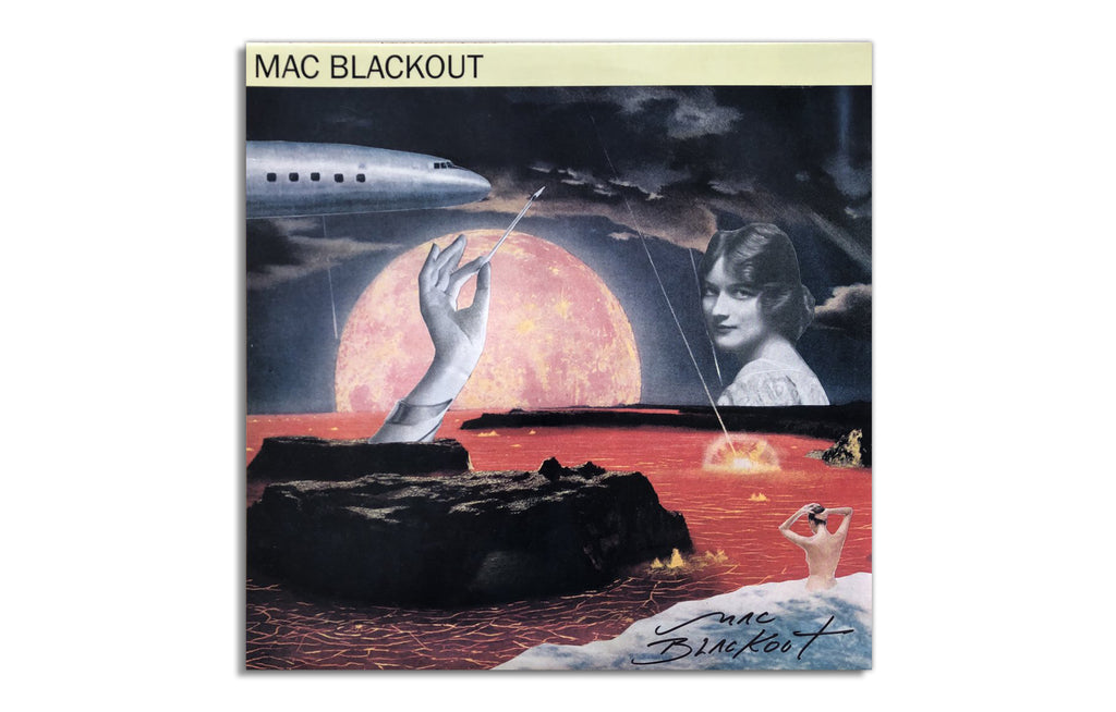 """Self-Titled"" Debut Solo LP, Signed by Mac Blackout"