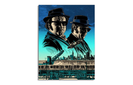Jake and Elwood Blues by Tim Doyle