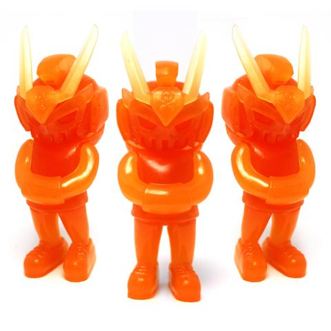 Agent Orange [Micro/ Glow] by Quiccs x Martian Toys