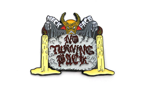 No Turning Back Pin by Neckface