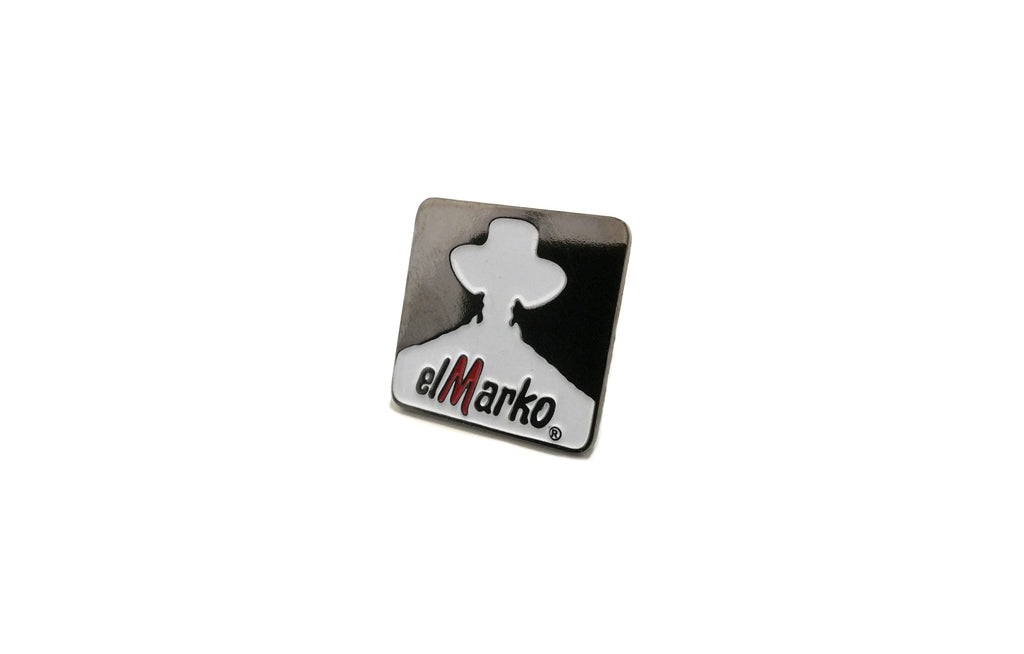 El Marko Enamel Pin by Billy Craven