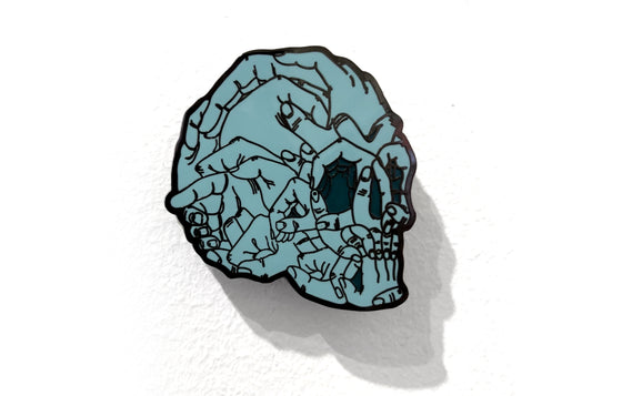Death Hands Enamel Pin by Fedz