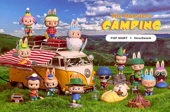 The Monsters Camping by Pop Mart