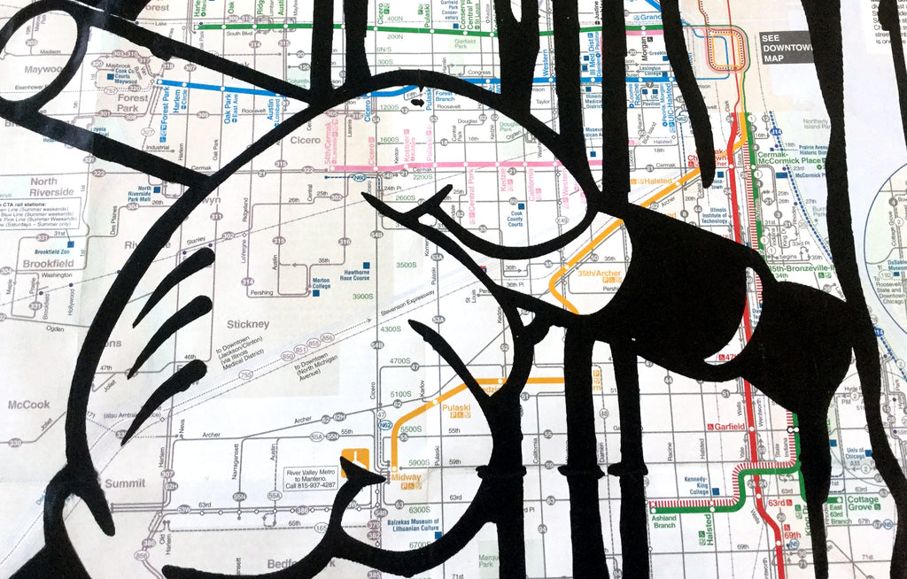 CTA Map by Rome Won