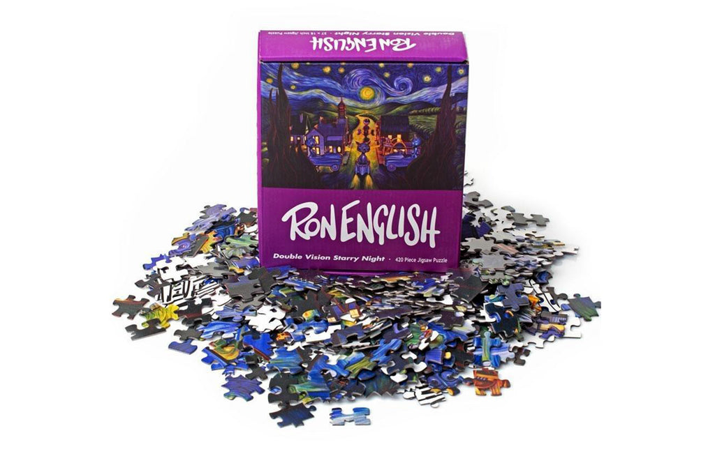 Jigsaw Puzzle [Double Vision] by Ron English