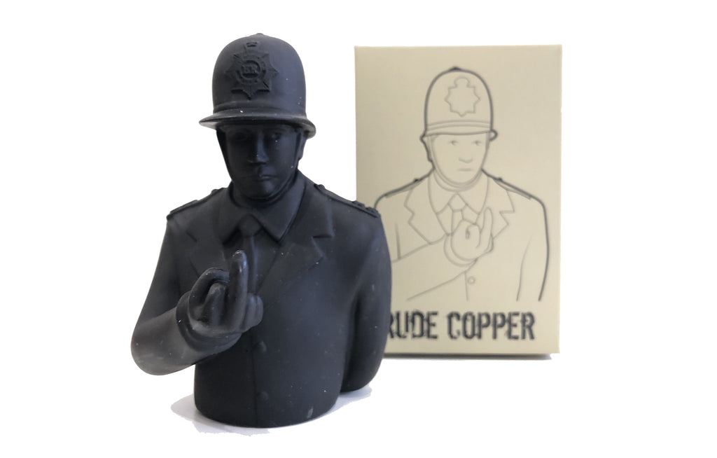 Rude Copper [Black] by Apologies To Banksy