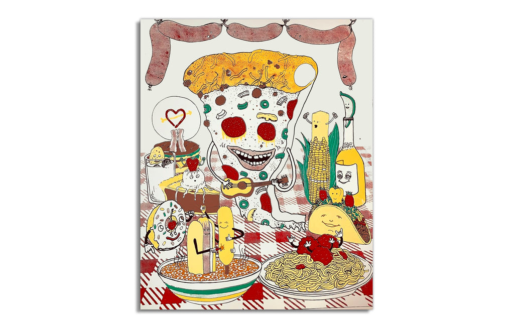 Pizza Party by Andy Schmidt | Starman Press