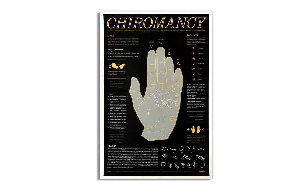 Chiromancy [Left Hand] by SORRY