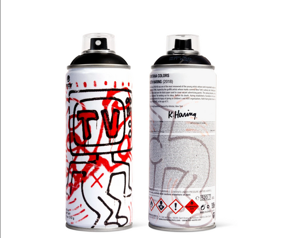 Keith Haring [Black] by Montana Colors