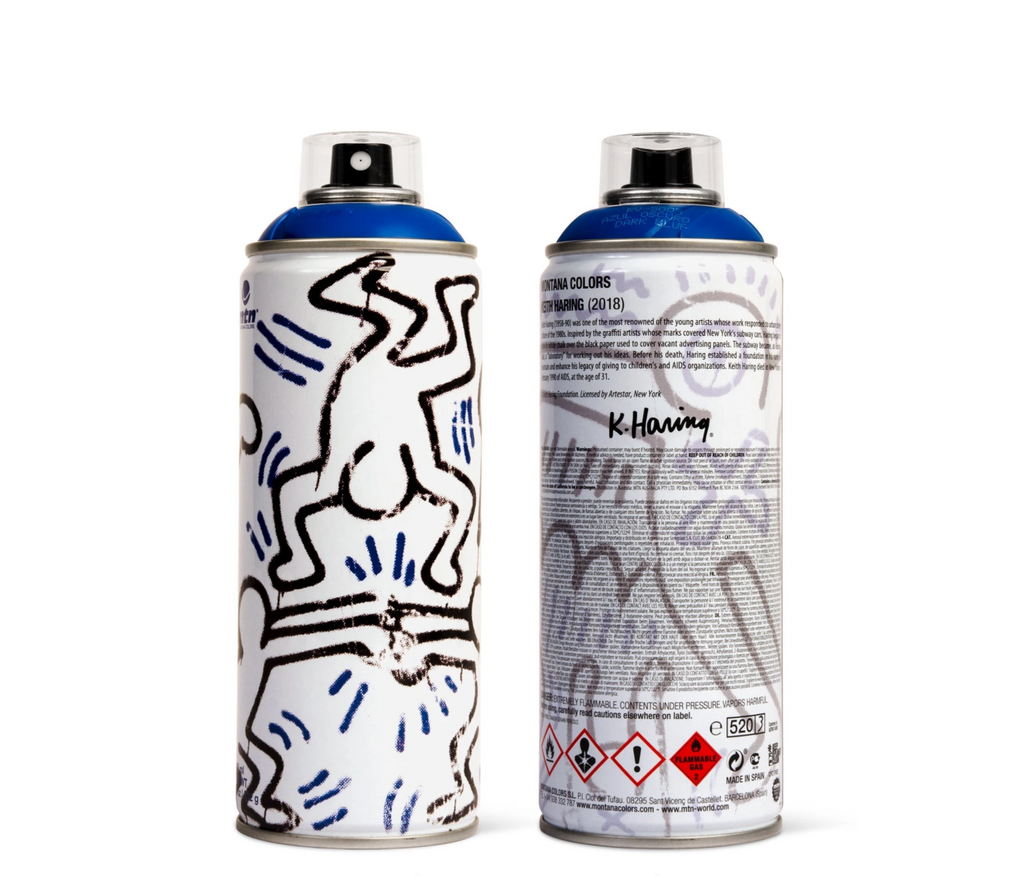 Keith Haring [Blue] by Montana Colors