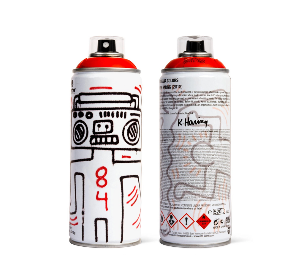 Keith Haring [Red] by Montana Colors