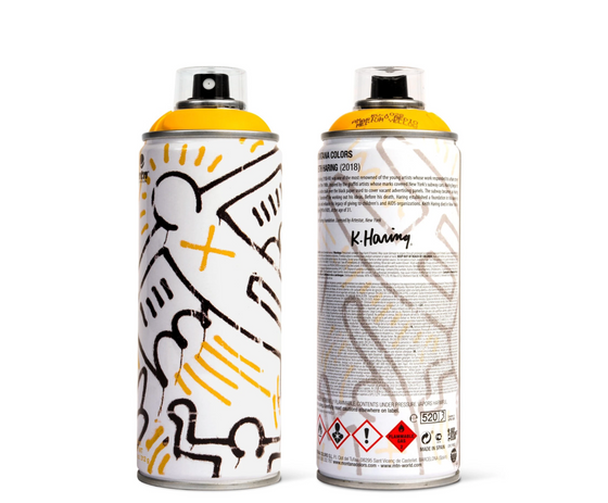 Keith Haring [Yellow] by Montana Colors