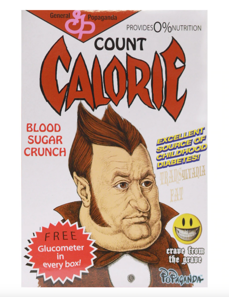 Count Calorie [Mini] by Ron English